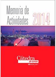 Memoria de actividades 2014 de la Cátedra CEPSA