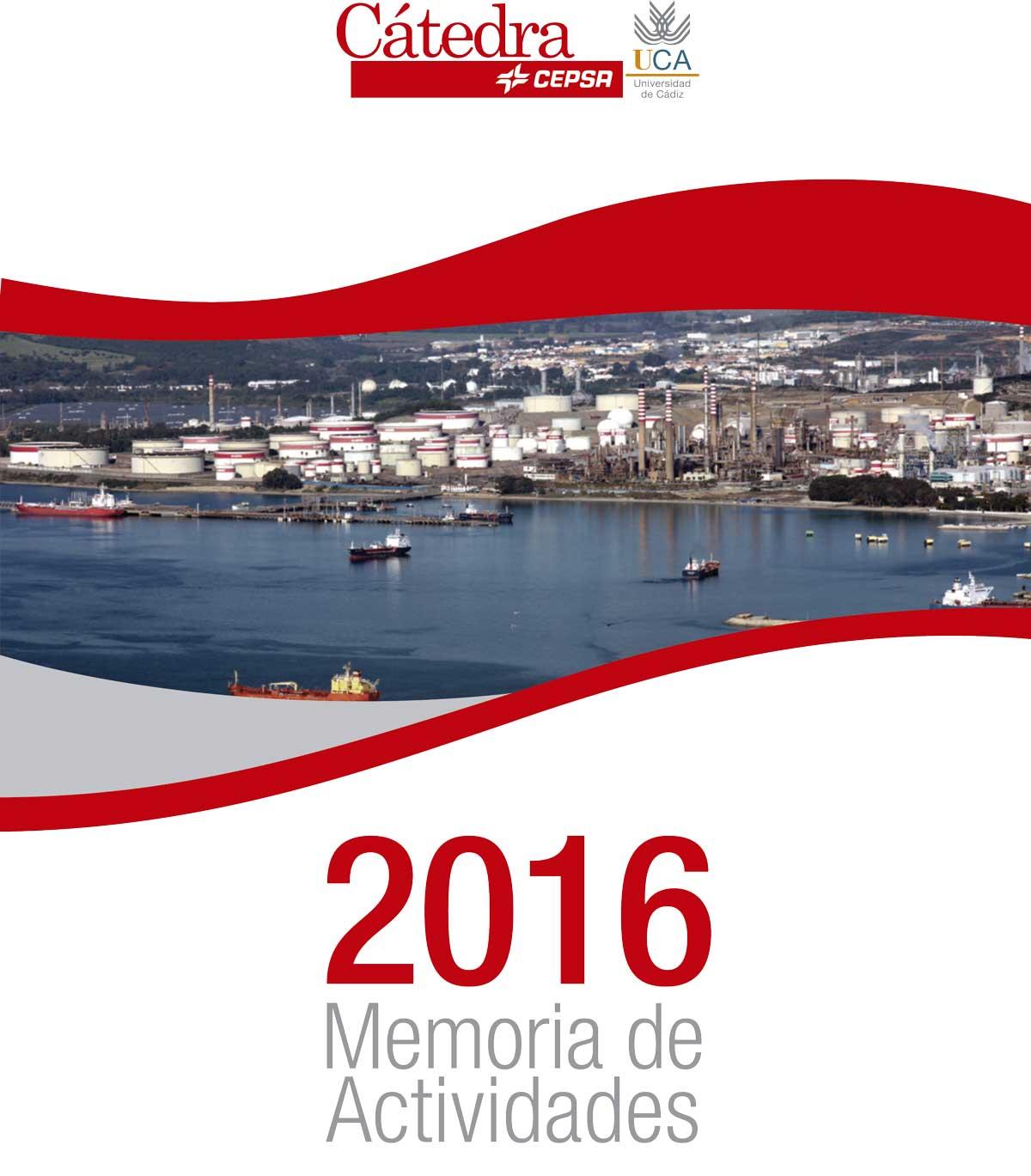 Memoria Cátedra Cepsa 2016