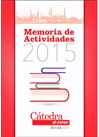 Memoria Cátedra Cepsa 2015