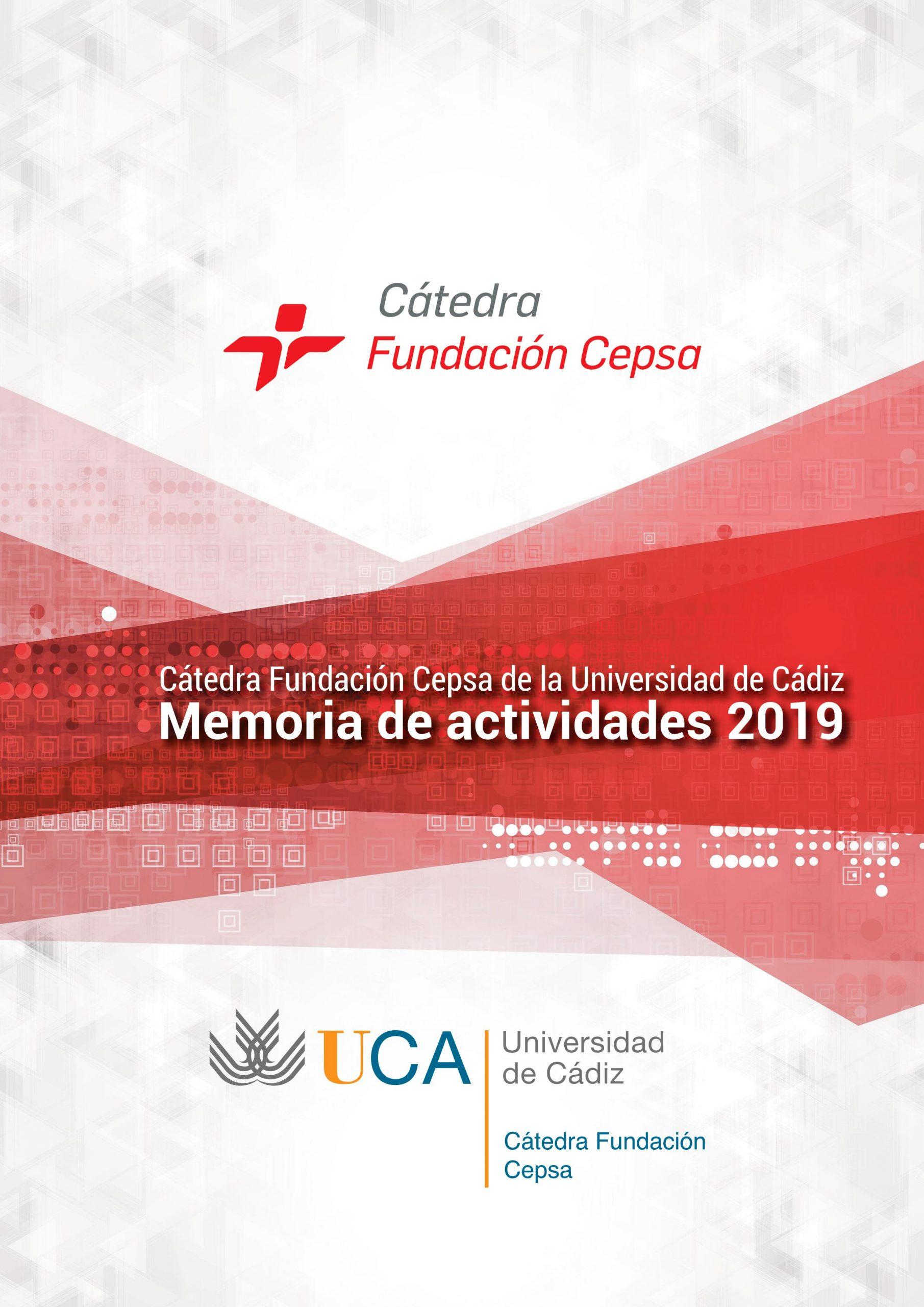 Memoria Fundación Cátedra Cepsa 2019
