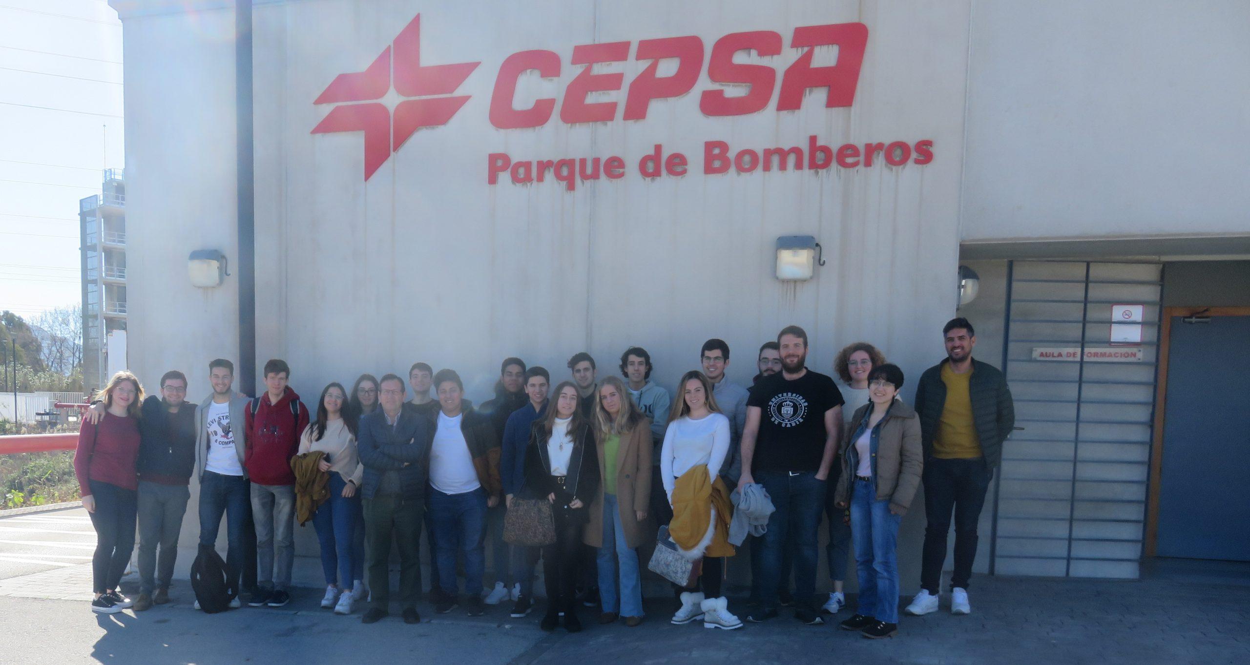 Los universitarios completan su formación con los 'Itinerarios Formativos' de la Cátedra Fundación Cepsa