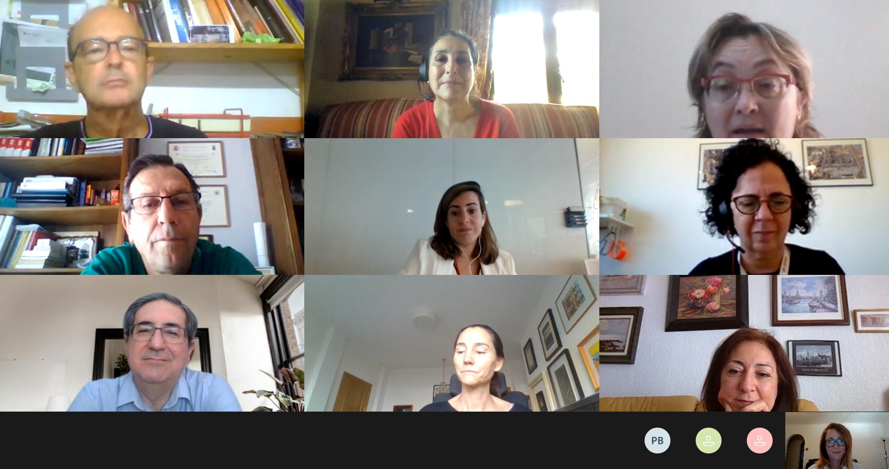 Afianzar la investigación y la relación entre profesionales, clave en la reunión entre las Cátedras universitarias de la Fundación Cepsa de Andalucía, Canarias y Madrid