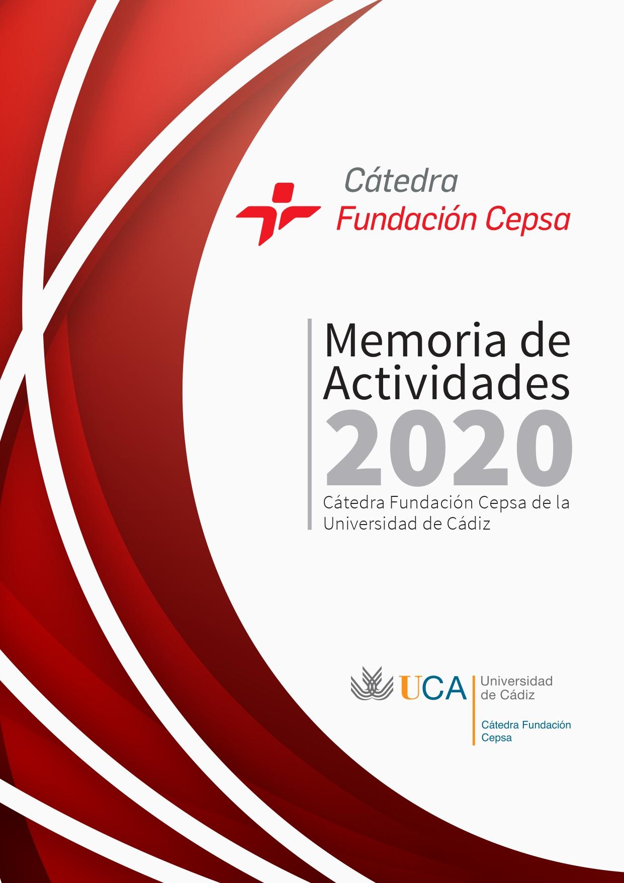 Memoria Fundación Cátedra Cepsa 2020